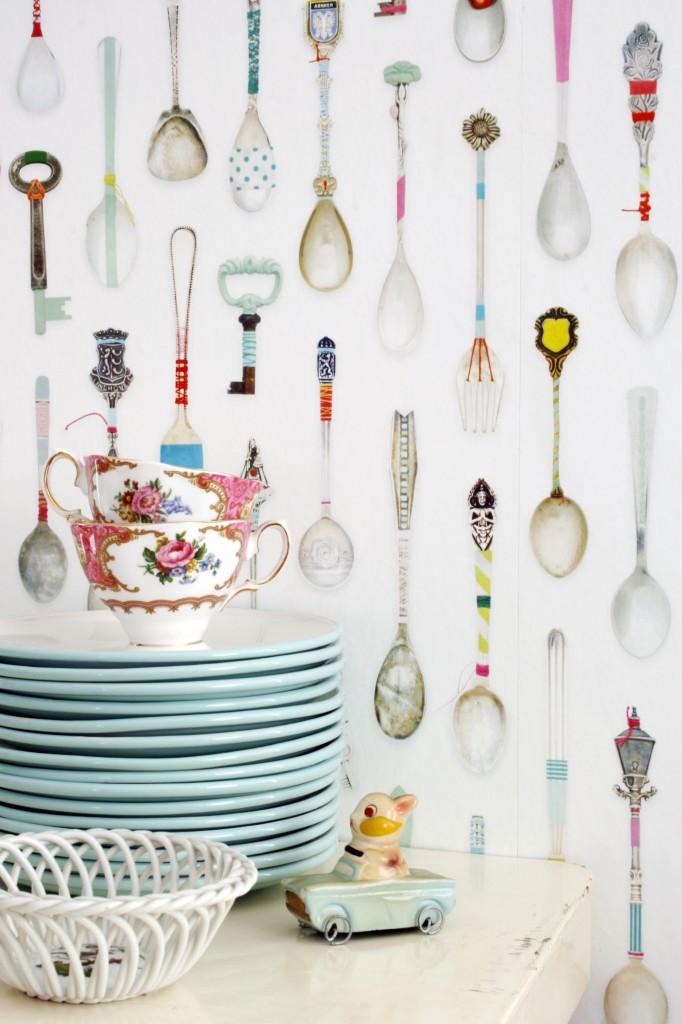 Teaspoons wallpaper 03