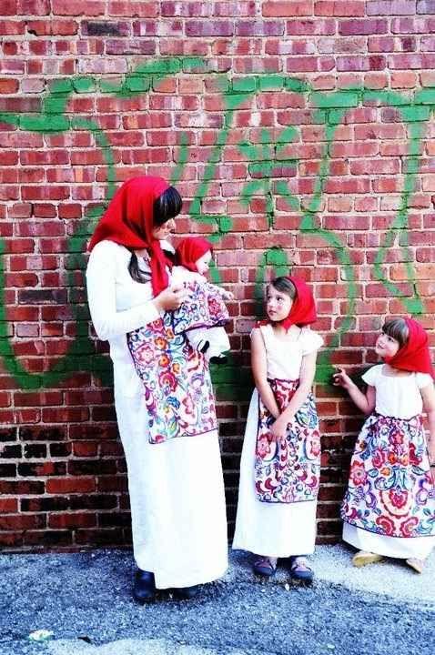 disfraz muñecas rusas