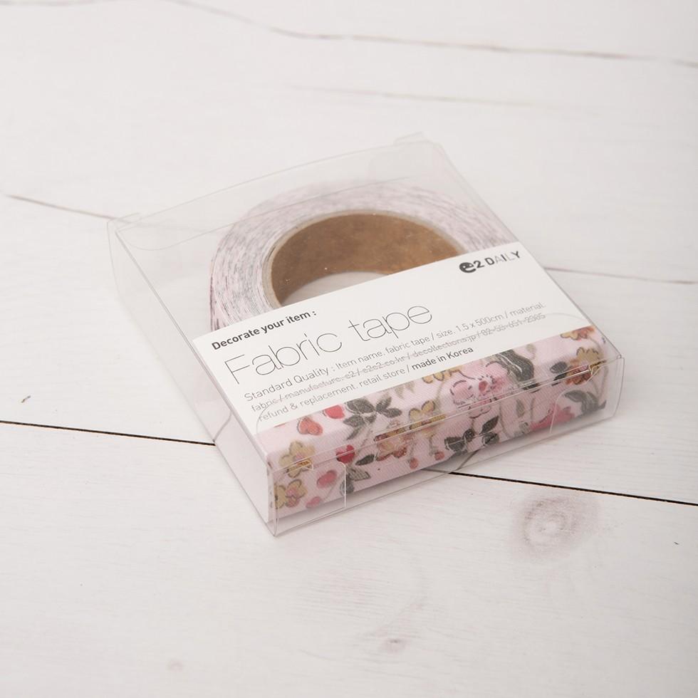 Cinta adhesiva de tela flores salvajes for Cinta de tela adhesiva