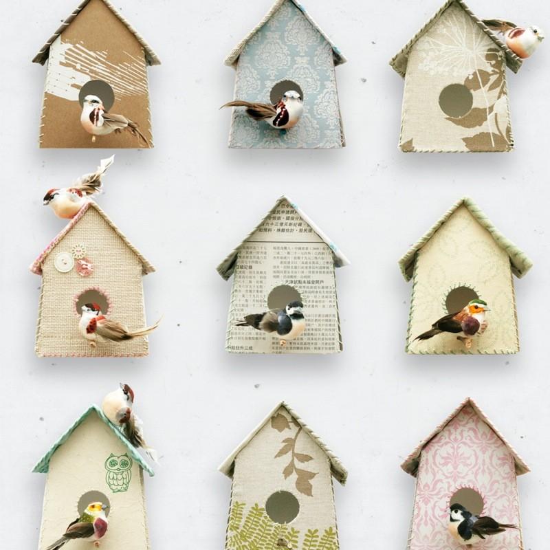 Papel de pared casitas de p jaros - Casita para pajaros ...