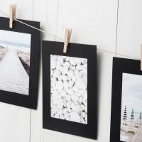 Set Colgador Fotos negro